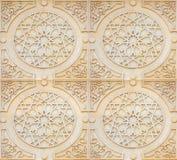 De Achtergrond van de Stijl van Arabesque royalty-vrije stock afbeeldingen