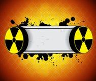 De achtergrond van de straling Stock Fotografie
