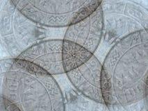 De Achtergrond van de Symbolen van de astrologie Stock Fotografie