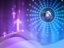 De achtergrond van de technologie Stock Fotografie