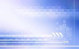 De achtergrond van de technologie Stock Afbeelding