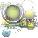 De achtergrond van de technologie stock illustratie