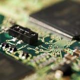 De achtergrond van de technologie. Stock Afbeelding