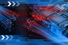 De achtergrond van de technologie Royalty-vrije Stock Foto