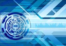 De achtergrond van de technologie Royalty-vrije Stock Fotografie