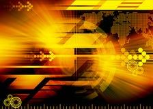 De achtergrond van de technologie royalty-vrije illustratie