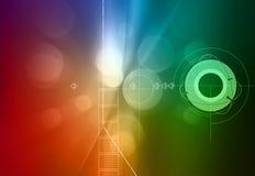 De Achtergrond van de technologie Stock Foto