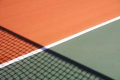 De achtergrond van de tennisbaan Royalty-vrije Stock Afbeelding