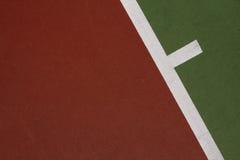 De achtergrond van de tennisbaan Stock Fotografie