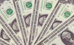 De Achtergrond van de Textuur van de Dollar van de V.S. Royalty-vrije Stock Foto's