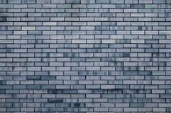 De achtergrond van de textuursteen van grijze bakstenen muur, de oppervlakte van de textuurmuur met donkere grijze bakstenen Royalty-vrije Stock Afbeelding
