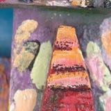 De achtergrond van de textuurverf stock foto