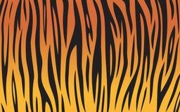 De achtergrond van de tijger Stock Foto