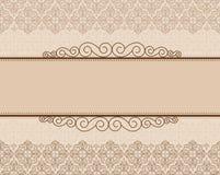 De achtergrond van de uitnodiging Royalty-vrije Stock Foto's