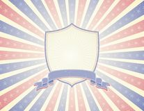 De achtergrond van de V.S., vector stock foto
