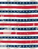 De achtergrond van de V.S., vectorillustratie Stock Foto