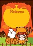 De Achtergrond van de Vakantie van Halloween Royalty-vrije Illustratie