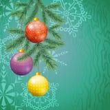 De Achtergrond van de Vakantie van Kerstmis Royalty-vrije Stock Foto