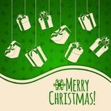 De Achtergrond van de Vakantie van Kerstmis Stock Fotografie