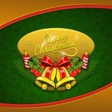 De Achtergrond van de Vakantie van Kerstmis Royalty-vrije Stock Foto's