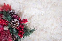 De Achtergrond van de Vakantie van Kerstmis royalty-vrije stock fotografie