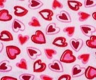 De Achtergrond van de valentijnskaart Stock Foto's