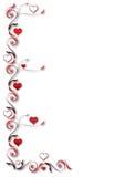 De achtergrond van de valentijnskaart Royalty-vrije Stock Fotografie