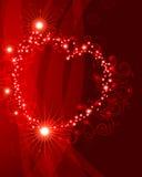 De Achtergrond van de valentijnskaart stock illustratie