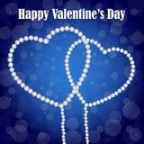De achtergrond van de valentijnskaartendag vector illustratie