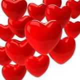 De achtergrond van de valentijnskaartendag Stock Illustratie