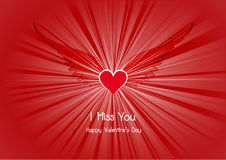 De achtergrond van de valentijnskaartendag Royalty-vrije Stock Afbeelding