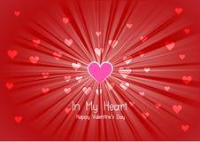 De achtergrond van de valentijnskaartendag Royalty-vrije Stock Afbeeldingen