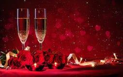 De achtergrond van de valentijnskaartendag royalty-vrije stock foto's