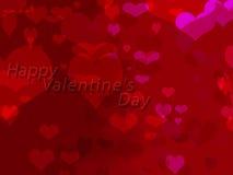 De achtergrond van de valentijnskaartendag Royalty-vrije Stock Foto