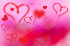 De achtergrond van de Valentindag stock fotografie