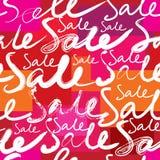 De achtergrond van de verkoop Stock Afbeeldingen
