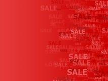 De achtergrond van de verkoop Stock Foto's