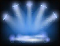 De achtergrond van de verlichting royalty-vrije illustratie