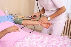 De achtergrond van de verpleegster Royalty-vrije Stock Afbeelding