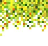 De achtergrond van de vierkantentechnologie Stock Afbeeldingen