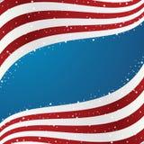 De Achtergrond van de Vlag van Verenigde Staten Stock Afbeeldingen