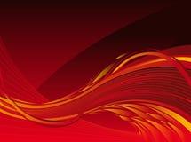 De achtergrond van de vlam stock illustratie