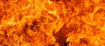 De achtergrond van de vlam Royalty-vrije Stock Foto
