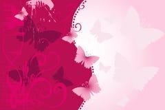 De achtergrond van de vlinder vector illustratie