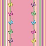 De Achtergrond van de Vlinder van de lente Royalty-vrije Stock Foto's