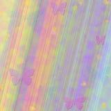 De Achtergrond van de Vlinder van de Regenboog van pastelkleuren Stock Foto