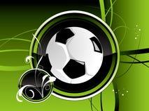De achtergrond van de voetbal Royalty-vrije Stock Foto