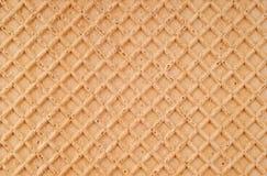 De achtergrond van de wafel Royalty-vrije Stock Foto's