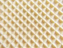 De achtergrond van de wafel Royalty-vrije Stock Afbeelding