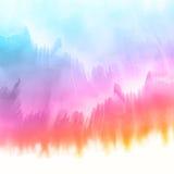 De achtergrond van de Watercolourtextuur royalty-vrije illustratie